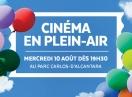 Cinéma en plein-air : Ouvert au public