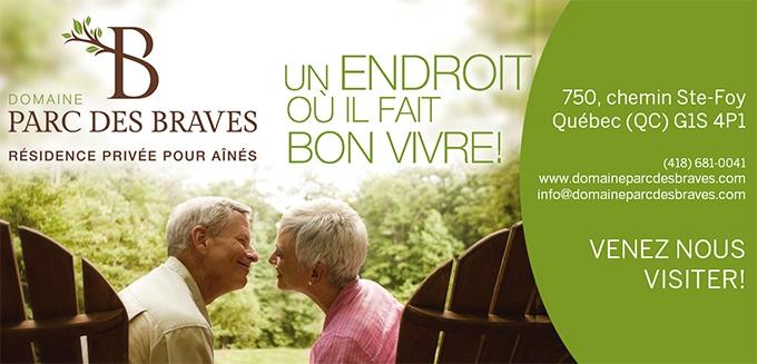 Domaine Parc des braves, résidence privée pour aînés