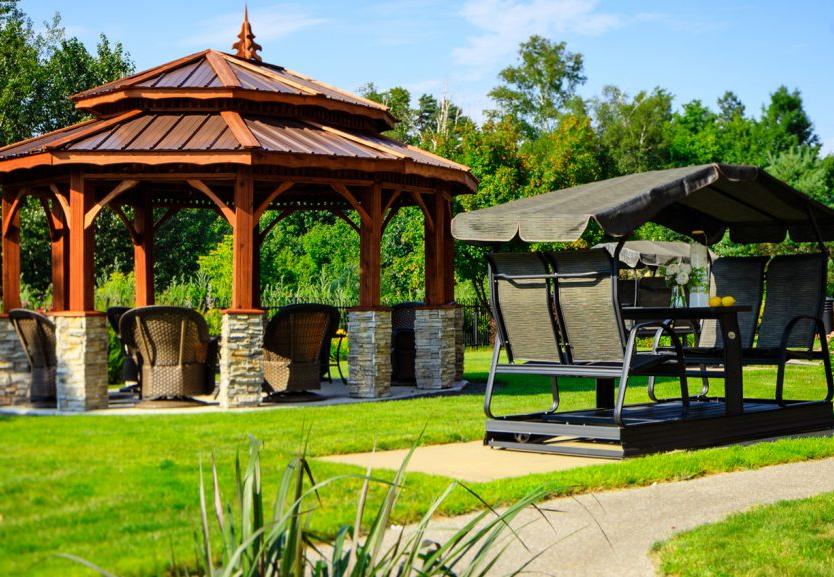 les jardins du campanile le groupe maurice shawinigan. Black Bedroom Furniture Sets. Home Design Ideas
