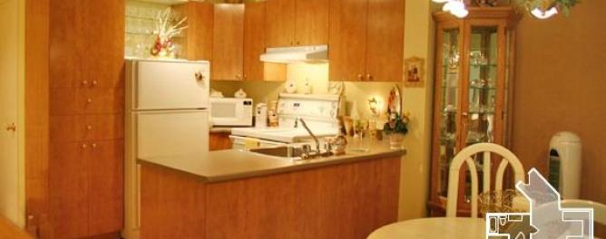 4 ½ salle à manger et cuisine