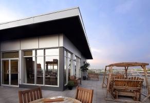 L'Image d'outremont - toit avec terrasse