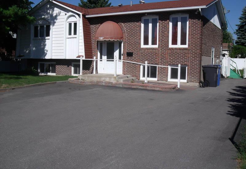Extérieur de la résidence