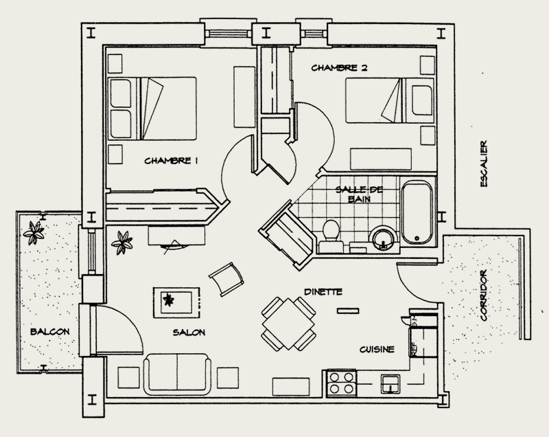 les jardins saint sacrement r sidence personnes g es. Black Bedroom Furniture Sets. Home Design Ideas
