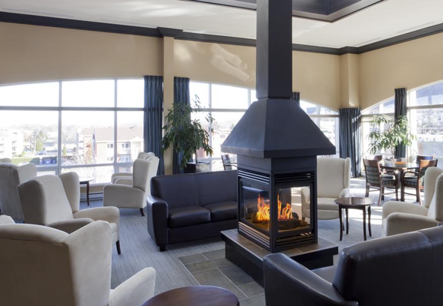 Quartier Mont Saint Hilaire - Salon d'hiver