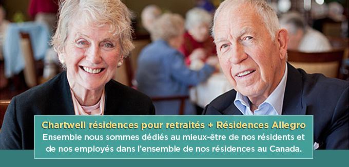 Chartwell, Allegro, résidences, maison, retraité
