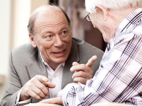 Luc Maurice, la passion des retraités