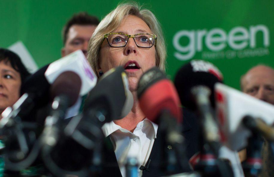 Élizabeth May, chef du Parti vert