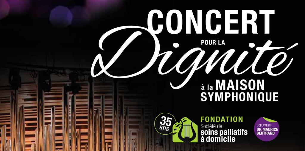 Concert pour la dignité 2016, Groupe Maurice, Fondation de la Société de soins palliatifs à domicile
