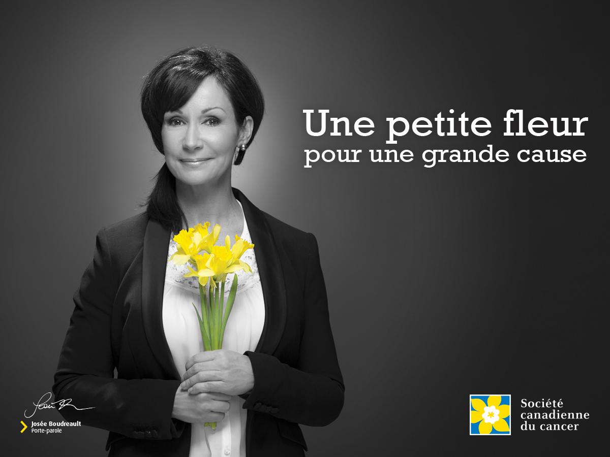 Société canadienne du cancer, Journée de la jonquille, Josee Boudreault