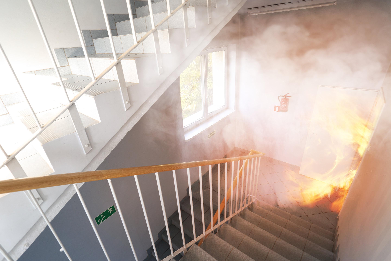 Exercices d'évacuation, feu, résidences pour personnes âgèes