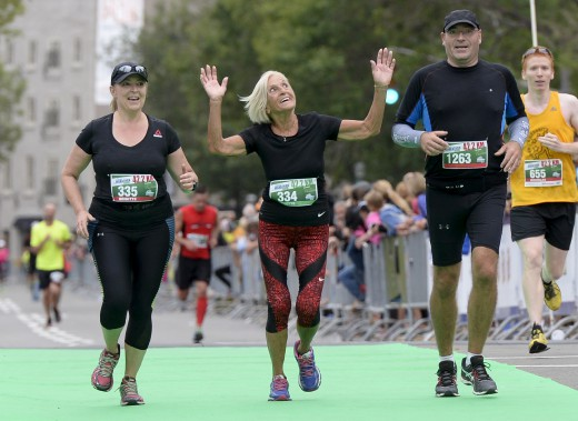 Yvette Drapeau, Doyenne du marathon