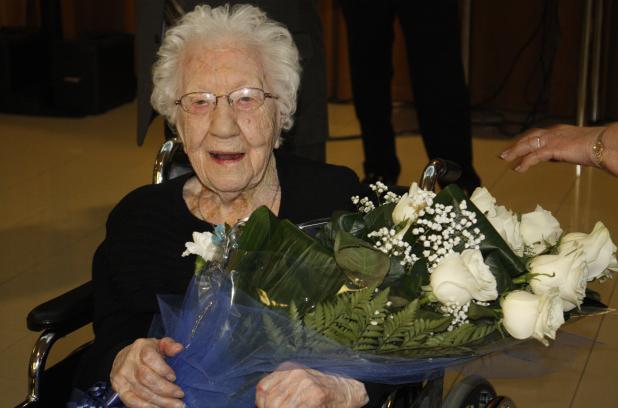 Alexina St-Pierre, 109 ans, Résidence Soleil, Pointe-aux-Trembles