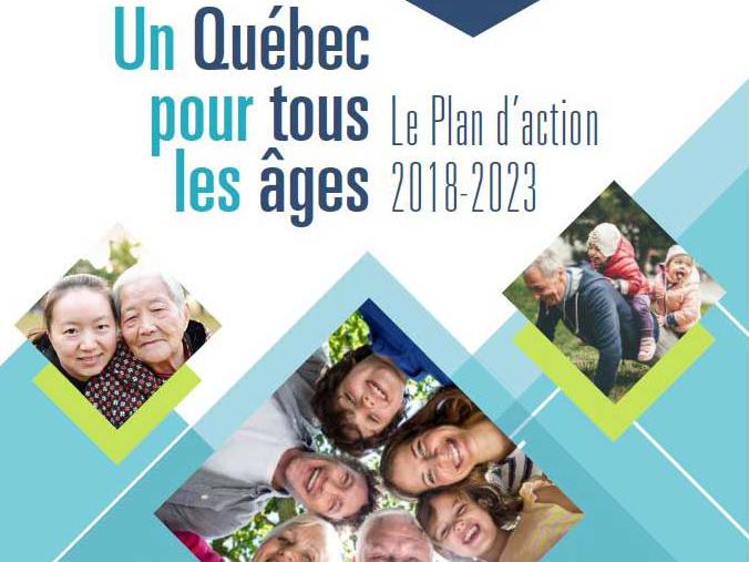 Québec, âges, plan d'action, vieillissement actif