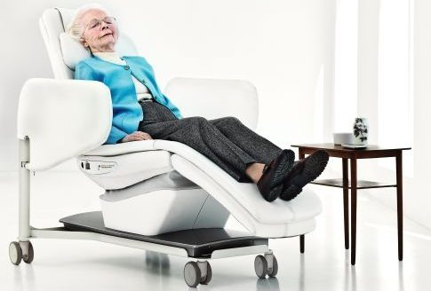 chaise berçante, chaise multisensorielle