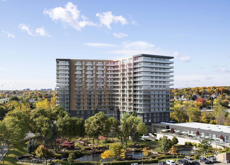 Les Marronniers, Groupe Morzaco, construction, nouvelle résidence, Laval