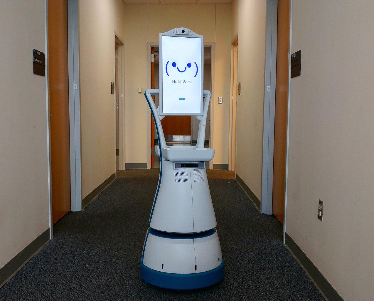 SAM, robot, aînés