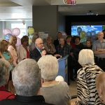 Inauguration officielle d'une zone loisirs aux Résidences Soleil Manoir St-Léonard