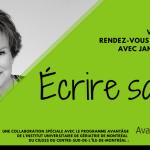 Écrire sa vie! : rédiger son autobiographie avec l'aide de Janette Bertrand