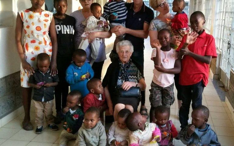 Irma Dallarmellina, Afrique, mission humanitaire