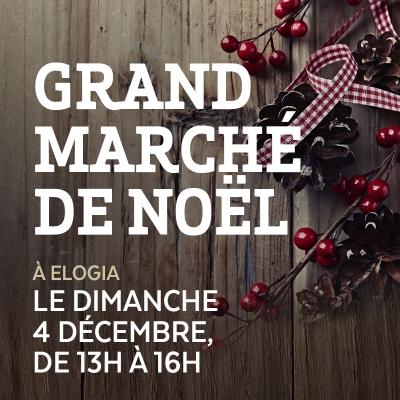 Le Grand Marché de Noel d'Élogia