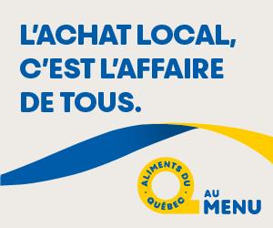 Aliments du Québec - 300x250