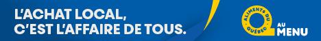 Aliments du Québec - 468x60