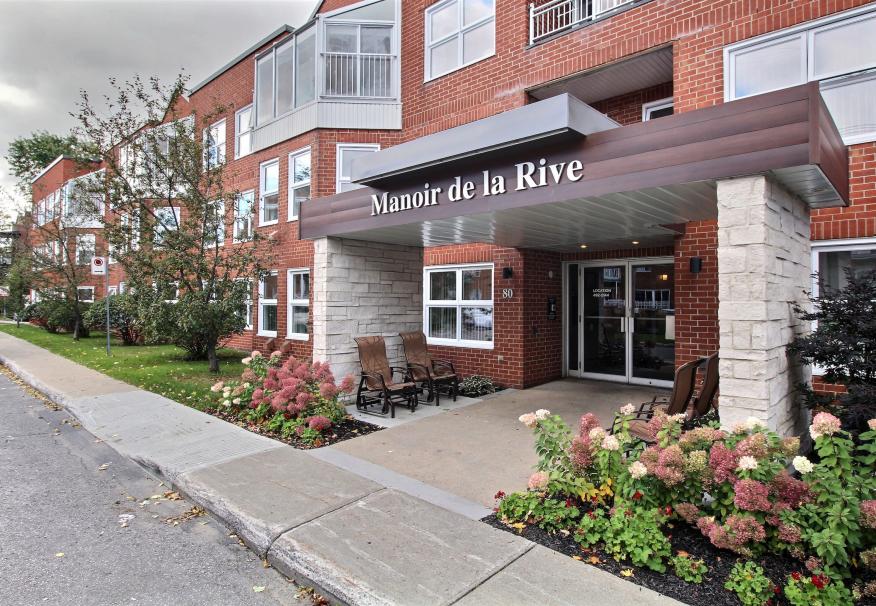 Vivre en résidence, Résidence Manoir de la Rive, résidences pour personnes âgées, résidences pour retraité, résidence