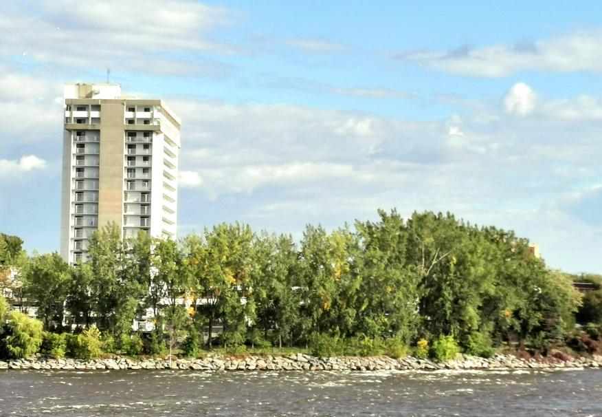 Aux abords de la rivière des Prairies