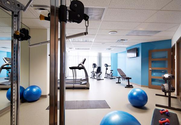 Le VÜ, salle d'exercice