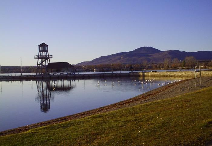 Le lac Memphrémago à proximité