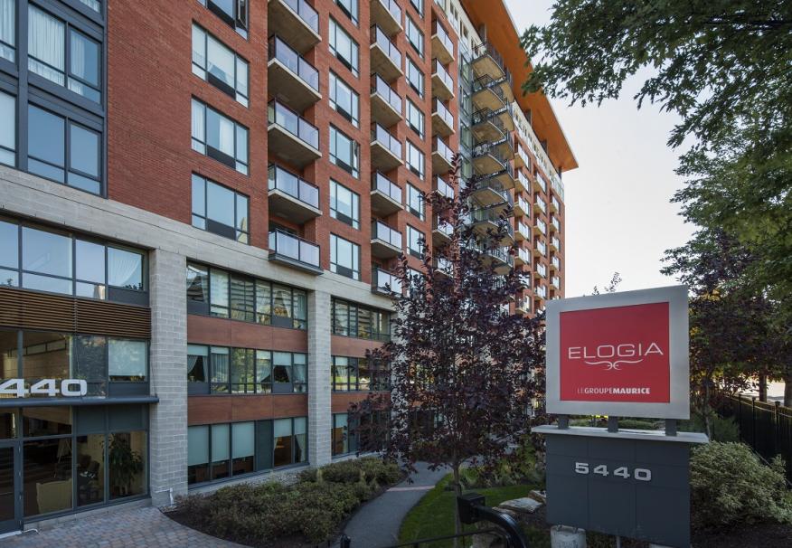 Elogia - résidence pour personnes âgées - vue entrée