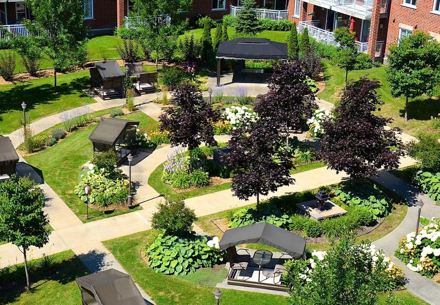 Vivre en résidence, Les Jardins de la Noblesse, résidences pour personnes âgées, résidences pour retraité, résidence